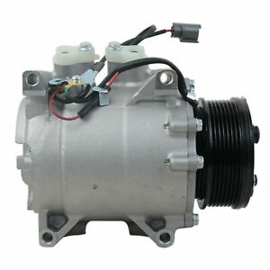 New 38810PNB006 AC Compressor w/Clutch for 2002-2006 Honda CR-V 2.4L Replacement