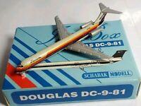 SCHABAK 1:600 SCALE DIECAST AIR CAL DOUGLAS DC-9-81 - 904/47