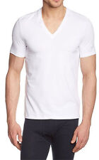 """Hugo Boss Men's Gym T-Shirt col V """"COOLMAX"""" taille XXL"""