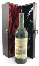 Chateau Saint Christoly 1971 Medoc vintage red wine in gift box