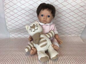 "Tiny treasure cute reborn newborn realistic lifelike toy baby girl doll ""18/45cm"