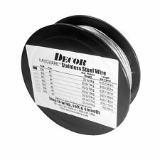 Framer Supply Uncoated Stainless Steel Filament Picture Wire