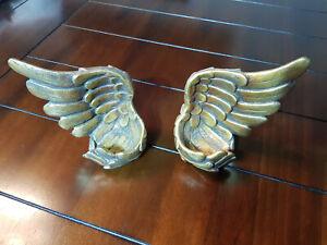 cracker barrel Angel Wings Tealight Candle Holder Set