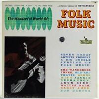 "The Wonderful World of Folk Music, Liberty 7"" Reel Tape LTP-7903 Stereo"