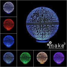 Lampada Star Wars Morte Nera (Death Star starwars guerre stellari yoda jedi)