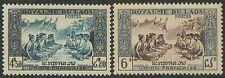 LAOS N°23/24* Série complète,  Fête villageoise, TB, 1953, complete Set MH