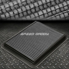 FOR 08-10 MALIBU/G6/DTS SILVER REUSABLE&WASHABLE HIGH FLOW DROP IN AIR FILTER