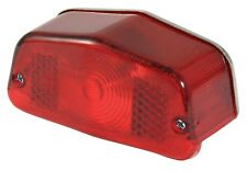 NEW UNIVERSAL LUCAS TYPE REAR STOP/TAIL MOTORBIKE LIGHT (INCLUDES BULB UNIT)