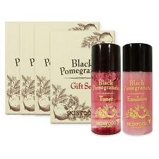 [SKIN FOOD] Black Pomegranate Gift Set (Toner+Emulsion) Sample 4 Set (5ml*8pcs)