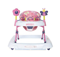 New Baby Trend Walker Activity Adjustable Height Removable Toy Bar Large Tray