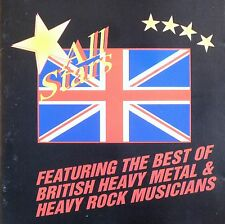 ALL STARS FEATURING THE BEST OF BRITISH HEAVY METAL & HEAVY ROCK MUSICIANS. CD.