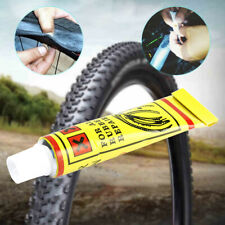10Pcs Bike Bicycle Tire Tube Patch Glue Rubber Cement Puncture Repair Tools