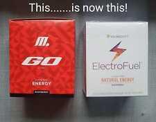 ElectroFuel Energy Stiks, 30 ct, GO, M Stik, Beneyou, Youngevity, + 5 stiks free