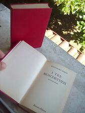 1949 ALESSANDRO DUMAS: 'I TRE MOSCHETTIERI' DUE VOLUMI. ED. B.U.R.