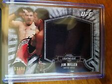 2012 Topps UFC Bloodlines Jumbo Fighter Worn Relic Jim Miller #53/88