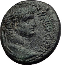NERO 65AD Antioch on the Orontes in Seleukis Pieria Ancient Roman Coin i60716