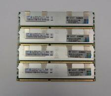 64GB (4x 16GB) HP Samsung 16GB PC3-8500R 4Rx4 ECC Reg Server Memory 500207-071