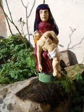 Statuette Henriot Quimper Vierge de Pitié Vierge au Christ Maillard Creston ....