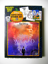 Something Wicked This Way Comes Disney Halloween Movie DVD Pumpkin Carving Kit