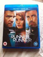 Runner Runner - 2013 Justin Timberlake/Gemma Arterton (Region-free Blu-ray)