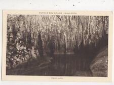 Cuevas Del Drach Canal Azul Mallorca Spain Vintage Postcard 962a