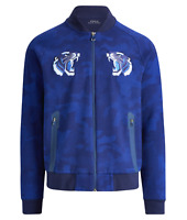 Polo Ralph Lauren Varsity Tiger Japan Embroidered Track Camo Souvenir Jacket LTD