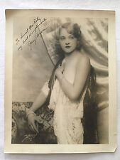 ORIGINAL JERRY ROGERS AUTOGRAPH SIGNED 11 x14 1930s WARDROBE MISTRESS COLLECTION