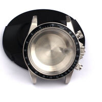 Watch Case Kit for Valjoux 7750 Movement DIY TMC 9420 Lug 20mm Black Bezel