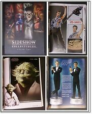 Catalogue SIDESHOW TOYS  Vol 10 catalogstatues bustes diorama hot toys # NEUF #