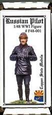Copper State Models 1/48 World War I RUSSIAN PILOT Resin Figure