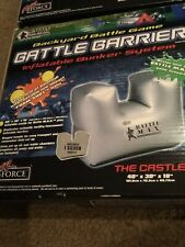 Battle Barrier 40� x 30� x 18� inflatable barricade for paintball Nib Two