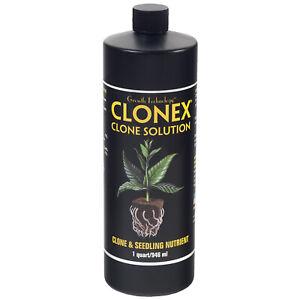HydroDynamics Clonex Clone Solution - Clone & Seedling Nutrient, 1 Quart