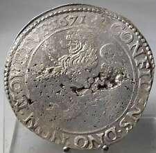 Niederlande-Westfriesland, Löwentaler 1671, Silber