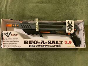 BUG-A-SALT 3.0 BLACK FLY EDITION Salt Gun Brand New Sealed FAST Free Shipping