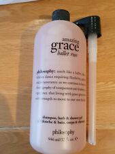 PHILOSOPHY Amazing Grace Ballet Rose Shampoo, Bath & Shower Gel 946ml NEW