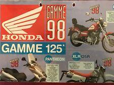 Honda Gamme 125 1998 Brochure Prospekt Prospect FR