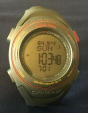 Origo Mens Watch WC107 Hunting Fishing Altimeter World Time Ballistic Data EUC