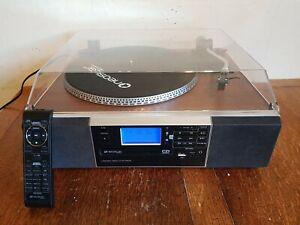 Neostar TCDR-30C Turntable,CD Recorder Tape, Radio, MP3 USB Bluetooth Player