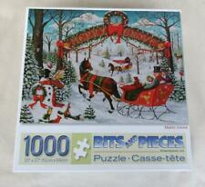 BITS AND PIECES MERRY GROVE 1000 PIECE PUZZLE ASSEMBLED AND COMPLETE