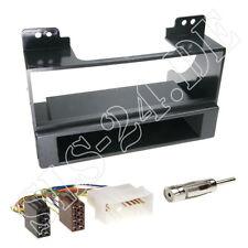 Kia carnival II ab06 1-din turismos auto radio instalación diafragma ISO adaptador kit completo