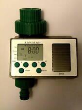 Solar Power Programmable Irrigation Timer Controller