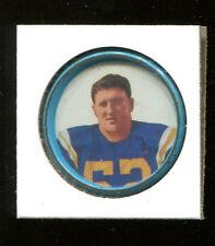 1962 Salada Football Coins Mike Hudock #139 Titans Ex+ Condition KK81