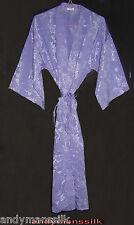 Thai Silk Kimono / Robe / Dressing Gown / Lilac