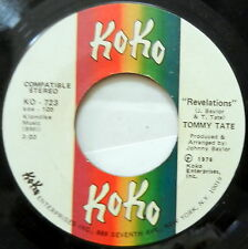 TOMMY TATE Revelations / If You Ain't Man Enough 45 Soul KOKO #678
