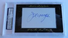 Joe Morgan 2012 Historic Autograph Why the Hall Not? PSA/DNA Cincinnati Reds /15