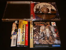 Akumajo Dracula X W/Spine Sega Saturn Japan