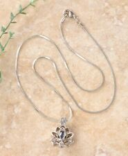 My Inspirations Precious Pearl Lotus Mystery Oyster Pendant Necklace Gift Set
