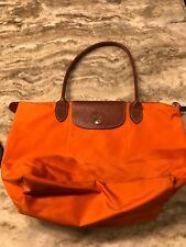 Longchamp Le Pliage Medium Shoulder Tote handbag Orange