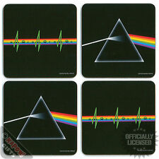 Pink Floyd Boxed Coaster Set - Mug Coffee Tea Cup Prism Home Kitchen Office Gift