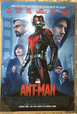 ANT-MAN MOVIE POSTER 2 Sided ORIGINAL INTL FINAL 27x40 PAUL RUDD